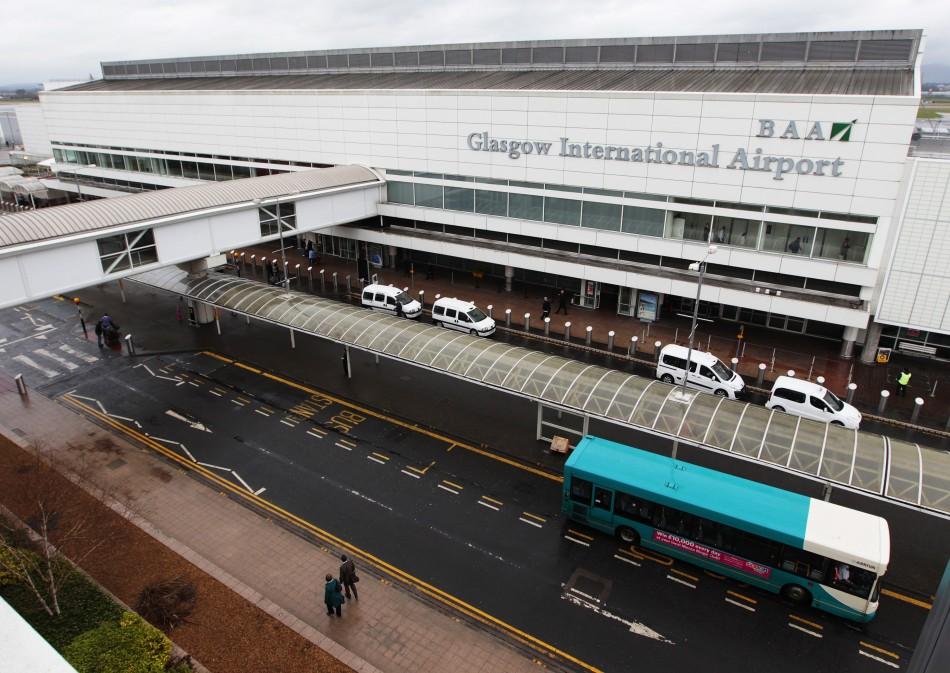Aeropuerto De Glasgow Transporte Aeropuerto Hacia Centro